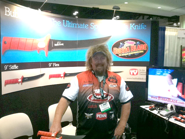 Bubba Blade Booth at ICast