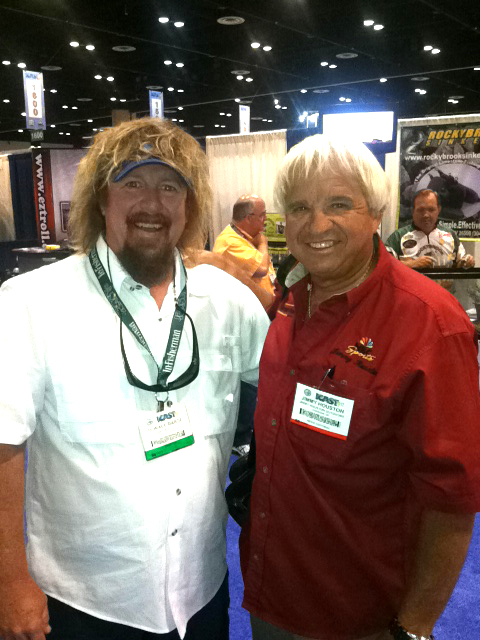 Horace Barge and Jimmy Houston at iCast
