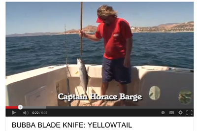 Captain Horace Barge & the Bubba Blade